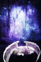 An Angels Descent by GlorySky