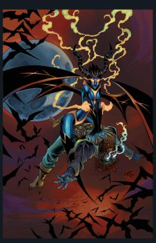 Usha Cover Colors  ( Succubus ) by RobertDanielRyan