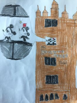 Mickey and minnie ride Twilight zone tower of terr by ivanlopezs
