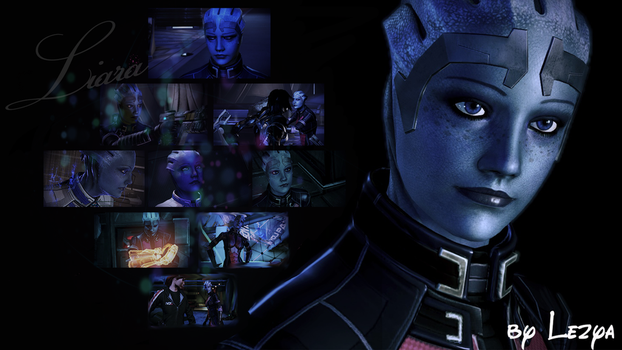 Liara T'Soni Collage by Lezya