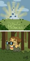 Place of Princes: 6- a stroll in the park by knightJJ