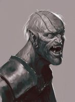 random vampighoul by yohan-haash