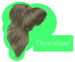 [MMD] PONYTAIL [+DL] by Sims3Ripper