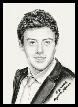 Cory Monteith by thewholehorizon