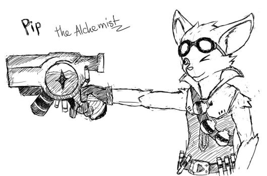Pip. the Alchemist by NeikTheFish