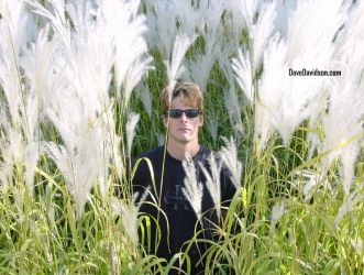Dave in Tall Weeds by AbstractDreams