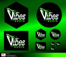 b-Vibes logo presentation 9 by R1Design