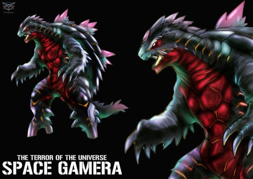 SPACE GAMERA by GARAYANN