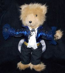 Jareth the Goblin King Bear by AbleSistersFanCrafts