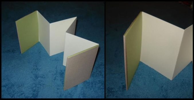 non-adhesive cover accordion by lightningbug