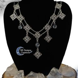 Celtic necklace Celtic Maiden Fantasy Jewelry by Nyjama