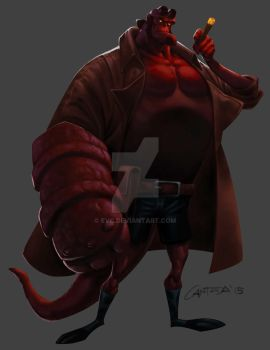 HellBoy01 by EVC