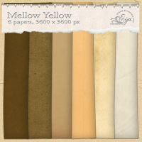 Mellow Yellow paper pack by Eijaite