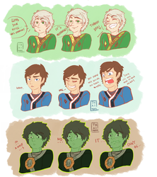 Expresion practice with Ninjago! by Thaimidas