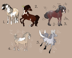 2016 fall Adoptables- SA approved! CLOSED by empluvie
