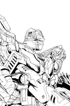 Transformers Foundation Cover by glovestudios
