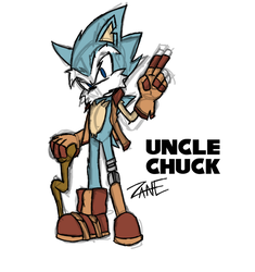 Uncle Chuck (Redesign) by Zaneyboy20