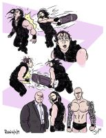 Seth Rollins Betrays The Shield by JonDavidGuerra