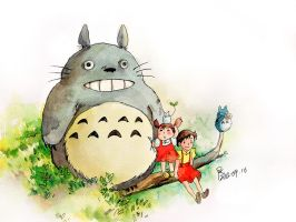 totoro by young920