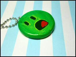 Onoes Necklace by GrandmaThunderpants