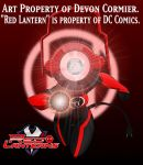 Red Lantern - A1-IC3 by PlayboyVampire