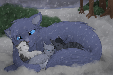 Mommy, It's Cold... by CascadingSerenity