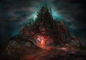 The darkness of lower place by lavam00