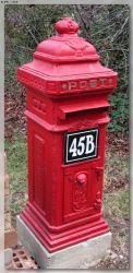 Another Red Letter Box by JohnK222