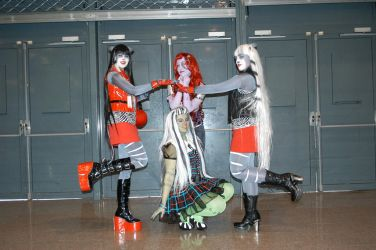 Monster High Cosplay - Full group ! by Galuren