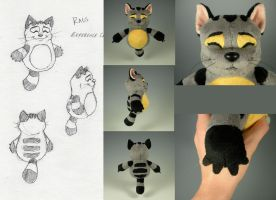Rags Plush by WhittyKitty