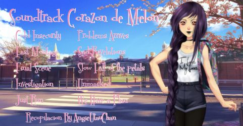 (Pack) CDM Soundtrack o algo asi by AngieUtauChan