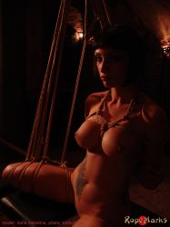 Cleopatra with Sofia Valentine 1 by ropemarks