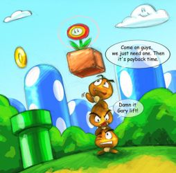 Goombas by ZeroMayhem