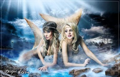 Princess Mermaids by Tommy-T-Designs