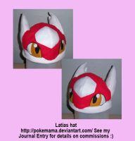 Latias hat by PokeMama