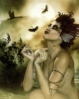 To Fly With The Birds by RavenMoonDesigns