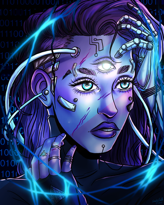 The Dark Web by Chrisily