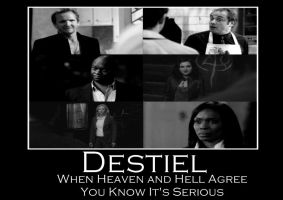Destiel - When Heaven and Hell Agree by Gatergirl79