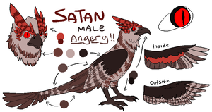 Satan ref by HoodieGrump