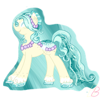 Gift: Lovely Shades of Teal by BlondeBrony