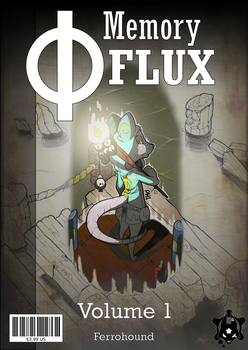 Memory Flux Cover Mockup by XenMetalWolf
