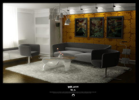 Living room part 1 by RaZorCleaN