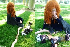 Merida - Brave (V) by ExionYukoCosplay