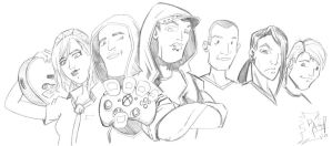 wcg ultimate gamers 1 by WolfsEye157