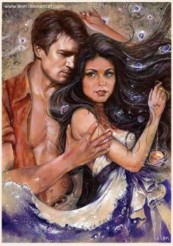 Mal and Inara by LiLen