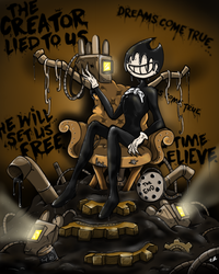 Inky throne by joselyn565