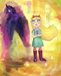 The Unicorn: Star vs. the Forces of Evil by KittyCatRainbow