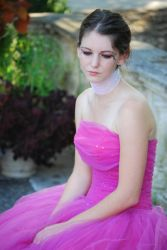 Lady in the Pink Dress by Slave-to-the-Wage