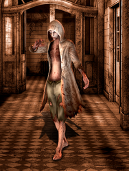 Ruvik - The Evil Within - Meshmod [XPS] by LexaKiness