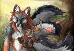 Leaves and Feathers by sebastiangreyfox